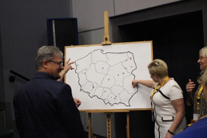 Mapa Zjazdów