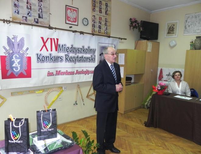 Wystąpienie prezesa Kazimierza Korczyńskiego