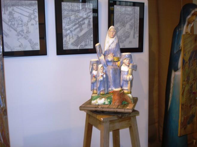 Rzeźba Matki Sybiraczki