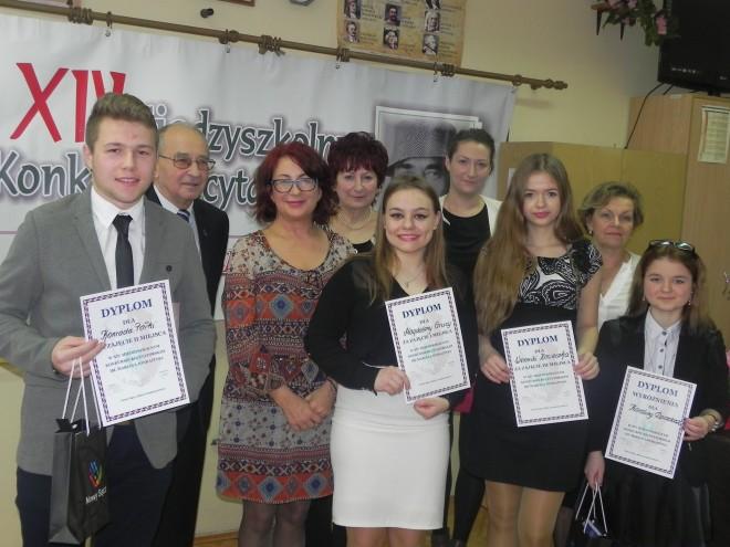 Laureaci w kategorii szkoła ponadgimnazjalna
