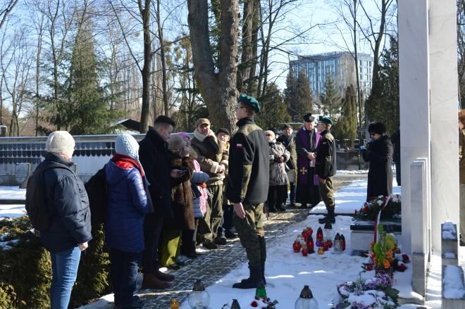 Uroczystość przy Symbolicznej Mogile Sybiraków na Powązkach