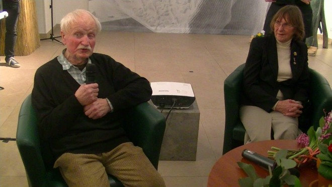 Prof. Stanisław Kulon i Mirosława Niekoraniec
