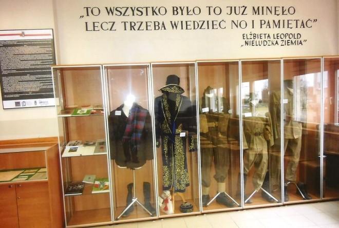 Sala im. Leszczyńskich Sybiraków - ekspozycja