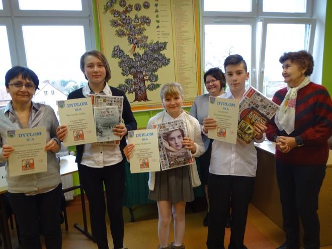 Zwycięzcy ze Szkoły Podstawowej w Osieku Łużyckim