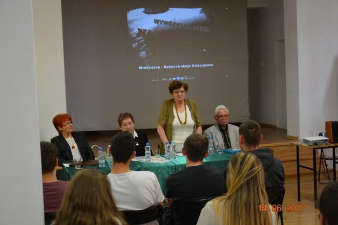 Teresa Paryna, Joanna Preiss, Maria Wielgosz, Bronisław Klepacki