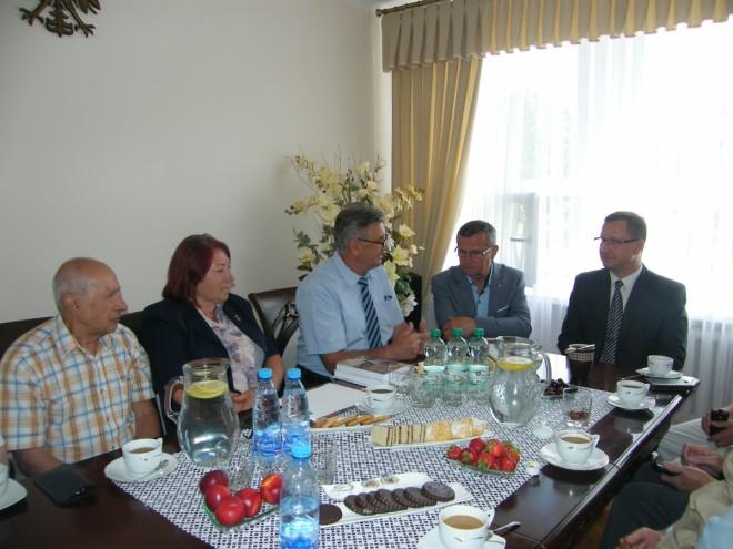Wizyta w Urzędzie Miasta w Golubiu-Dobrzyniu