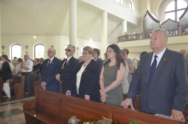 Msza w kościele pw. Świętej Rodziny w Augustowie