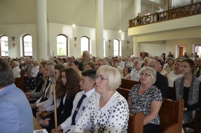 Uczestnicy mszy