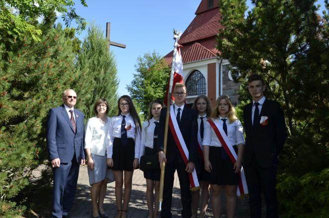 Delegacja z Gimnazjum nr 2 im. Sybiraków w Augustowie