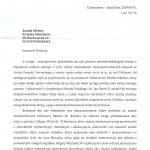 Odpowiedź generała Zakonu Paulinów na Jasnej Górze z dnia 3 sierpnia 2018 r. na pismo VIII Krajowego Zjazdu Delegatów