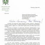 Pismo VIII Krajowego Zjazdu Delegatów do premiera Mateusza Morawieckiego z dnia 9 lipca 2018 r.