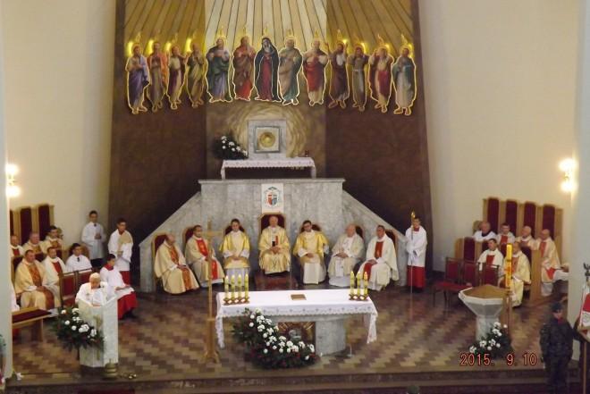 Msza w kościele pw. Ducha Świętego