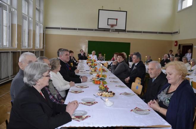 Augustowscy Sybiracy podczas spotkania