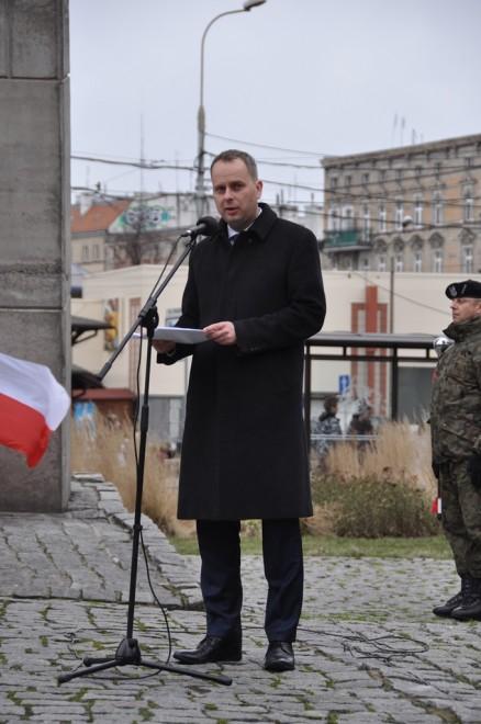 Wojewoda dolnośląski Paweł Hreniak