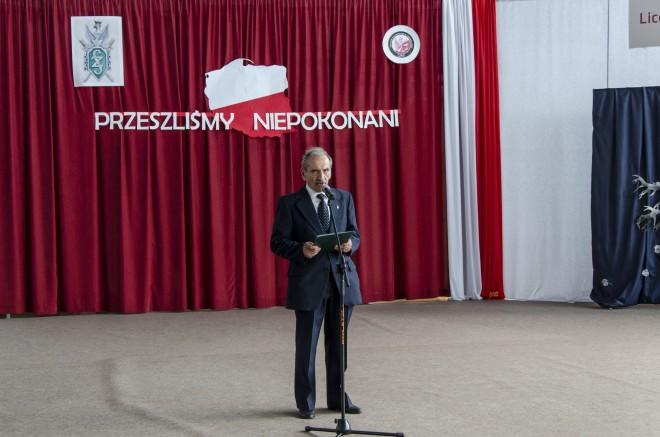 prezes Zarządu Oddziału Związku Sybiraków w Lublinie Janusz Pawłowski