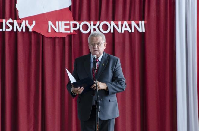 Prezes Zarządu Głównego Związku Sybiraków Kordian Borejko