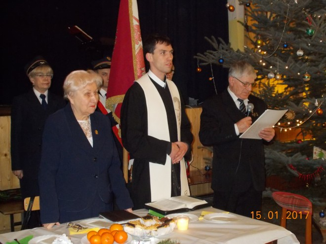 Wanda Puchała, o. Maciej Nowak, Stanisław Dwojny